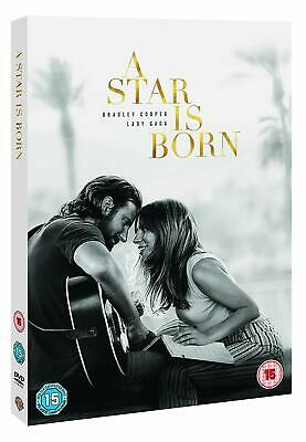 2018 A Star Is Born Musical Lady Gaga Bradley Cooper Hit Film Movie DVD UK New