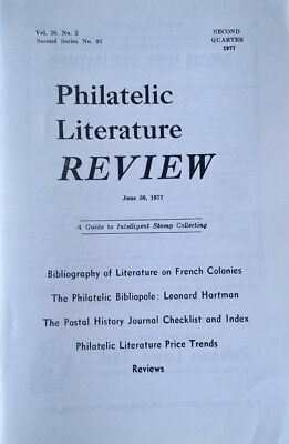 Bibliography of Literature on French Colonies Francaises France (In 5 parts)