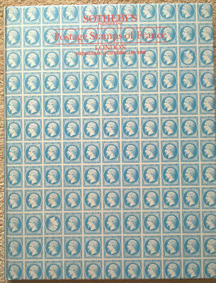 Auction Catalogue POSTAGE STAMPS OF FRANCE Classic Stamps Covers Postal History