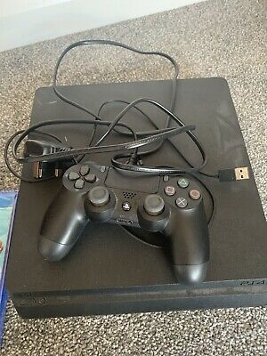 Sony PlayStation 4 500GB Console - Black With FIFA 19