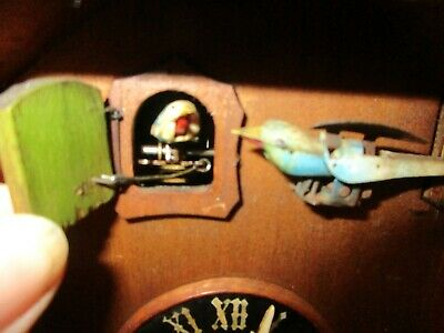 small unusual cuckoo clock