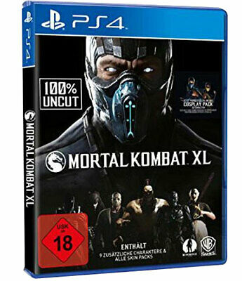 Mortal Kombat XL Playstation 4  PS4 - 100% UNCUT - Neu & OVP