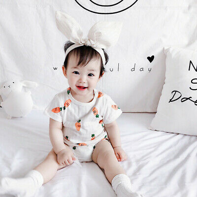 Baby Boys Girl Outfits Casual Party Cartoon T-shirt Tops+Shorts 2PC/Set Clothes