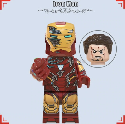 Iron Man Avengers Figure Infinity End Game I am Iron man Snap UK Seller