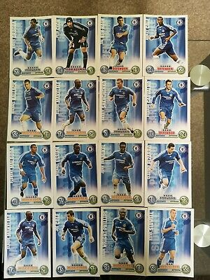 Bundle Of 16 Chelsea Match Attax 2007