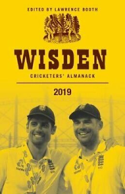 Wisden Cricketers' Almanack 2019 by Lawrence Booth 9781472964069 | Brand New