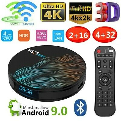 HK1-max Android 9.0 Smart TV Box 2GB16GB Quad Core UHD 4K Wifi Media Player