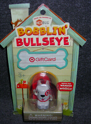 Target Gift Card No Cash Value Bobblin' Bullseye Bobble Head Collectible Only