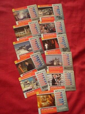 Job Lot Of James Bond 007 Spy Files Locations Collectors Cards