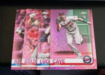 ** You Pick ** 2019 Topps Chrome Pink Refractor Parallel - Rookies Rc