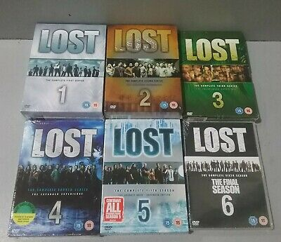 BRAND NEW - Complete LOST Series 1-6 DVDS (B17 / 08)