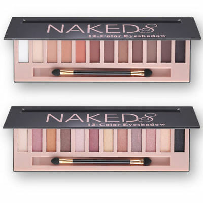 Nude Eyeshadow Palette 12 Color Naked Matte Pearl Eye Shadows Waterproof Natural