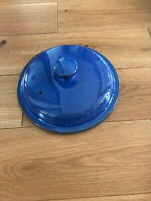 Denby Imperial Blue Casserole Dish Lid - Excellent Condition. Not In Box