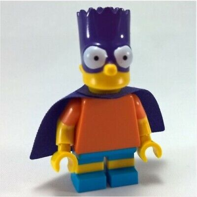 Bartman - The Simpson - Nuovo in Blister - Moc Custom Minifigures Simil LEGO