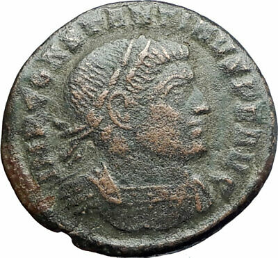 CONSTANTINE I the GREAT 310AD Trier  Authentic Ancient Roman Coin SOL SUN i80237