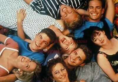 24 by 36 inch A BEVERLY HILLS 90210 80s 90s Poster TV Movie Photo Poster