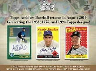 2019 Topps Archives Complete Your Set (101-200)(1975) Buy 5 Get 2 Free No Limit