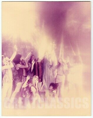 Hair Musical 1969 Psychedelic Oversize Dblwt Color Photograph By Dunstan Pereira