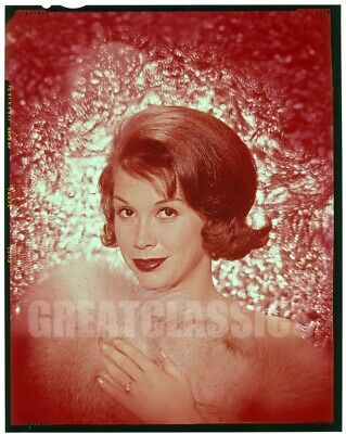 Mary Tyler Moore 1961 Dick Van Dyke Show Lovely Vintage 4X5 Color Transparency