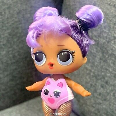 LOL Surprise Doll DARING DIVA Big Sis Sister Dolls Babe HAIRGOALS Purple Kitty