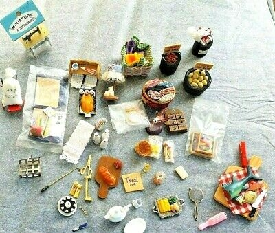 Doll House Kitchen Etc Accessories Bulk #1