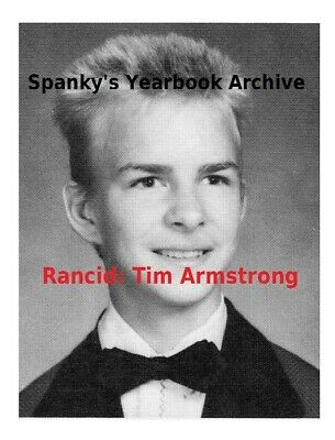 "1980s High School Yearbook w TIM ARMSTRONG & MATT FREEMAN ~RANCID ~ ""Time Bomb"""