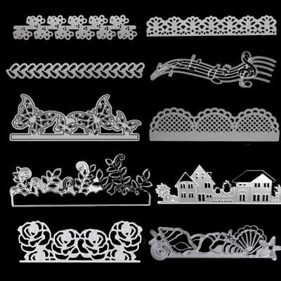 Metal Cutting Dies Lace For DIY Stamp Scrapbooking Photo Album Embossing Paper