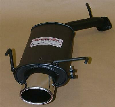 Vauxhall Vectra B Estate (95-02) Sportex Exhaust Tailbox - Oval