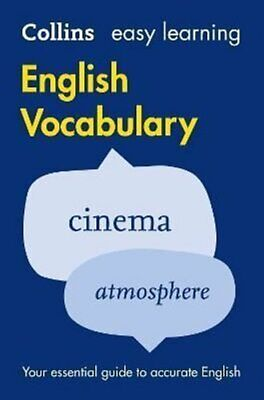 Easy Learning English Vocabulary by Collins Dictionaries 9780008101770