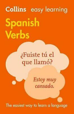 Easy Learning Spanish Verbs by Collins Dictionaries 9780008158439 | Brand New