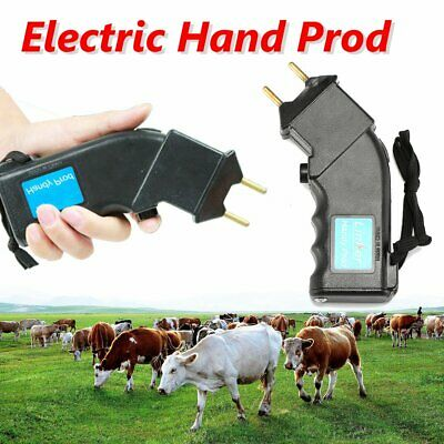 6V Electric Shock Cattle Hand Prod Cattle Livestock Moving Farm Pig Sheep Cow