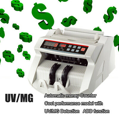 Uv & Mg Counterfeit Bill Money Counter Multi Currency Cash Counting Machine
