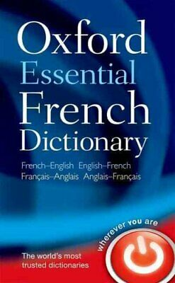 Oxford Essential French Dictionary by Oxford Dictionaries 9780199576388