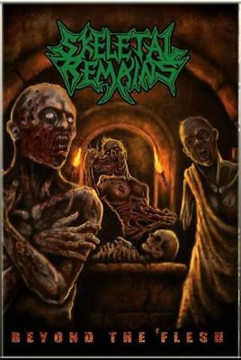 SKELETAL REMAINS Beyond The Flesh +1 -Cassette Tape MC, Obituary Death Gruesome