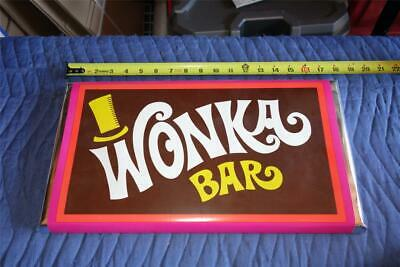 "SUPER RARE - Willy Wonka & The Chocolate Factory (1971) XL Wonka Bar Prop 18""!"