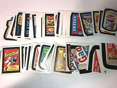 1982 Wacky Packs 103 Out Of 120 Card Set Nearly Complete Topps