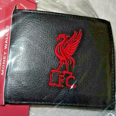 Liverpool Fc Lfc Embroidered Crest Wallet Brand New Official Gift Bnwt