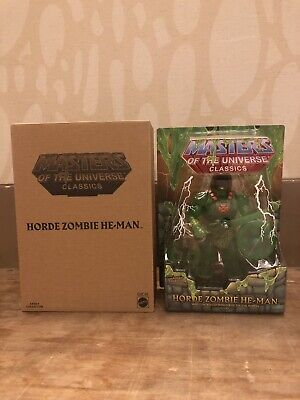 2019 Power-Con Exclusive Horde Zombie He-Man MOTUC Collector Choice MIB In Hand