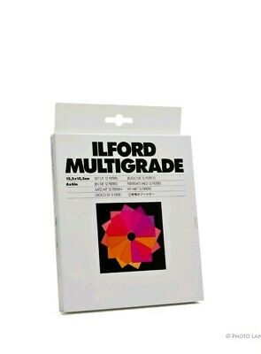 Ilford Multigrade Filter Set Filter Set 1762640 missing page 2 and page 4