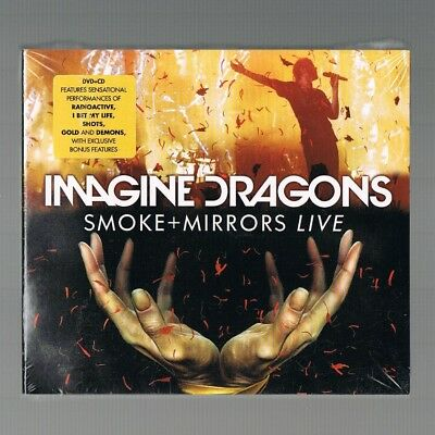 IMAGINE DRAGONS Smoke + Mirrors Live CD/DVD New Factory Sealed Free UK Post ##