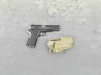 1911 Pistol w// Holster /& Mag Armed Maid MC Toys Action Figures 1//6 Scale