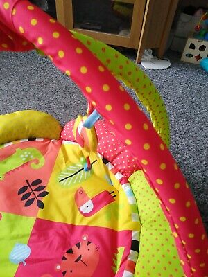 Baby play gym used once