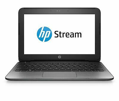 HP Stream 11 Pro Intel Dual Core 2.16GHz Webcam Wi-Fi 32GB eMMC Win 10 Activated