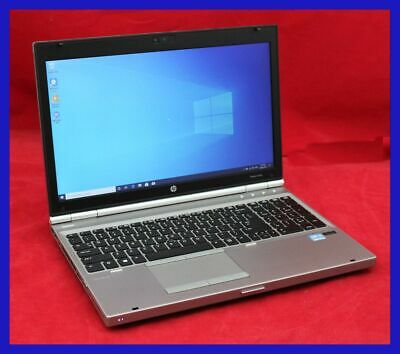 LAPTOP HP ELITEBOOK 8570p CORE I5 - 3360M @ 2.8GHz 8GB RAM 240GB SSD WIFI 15.6""