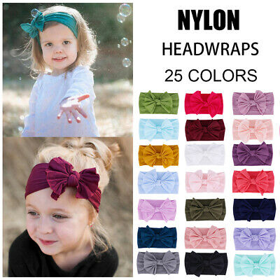 Kids Girl Baby Headband Toddler Infant Bowknot Hair Band Accessories Headwear