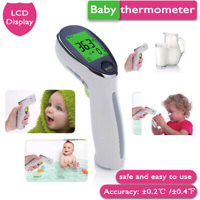 LCD Digital Non-contact IR Infrared Thermometer Baby Adult Body Forehead Home
