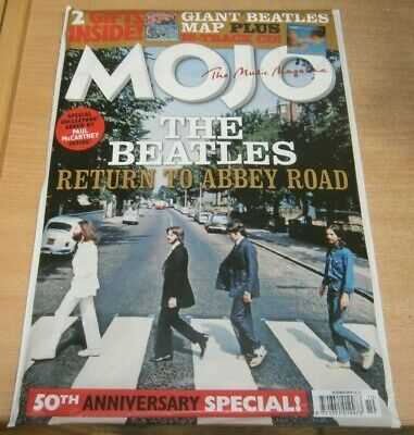 Mojo magazine Oct 2019 The Beatles Abbey Road 50th Anniversary Special + CD