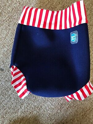 splash about happy nappy Cover Size Small Swimming Trunks Blue Red White Summer