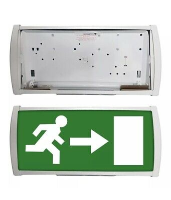 8w 3 Hour Maintained / Non Maintained Exit Box Emergency Light
