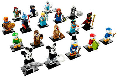 LEGO DISNEY SERIES 2 Complete SET of 18 COLLECTIBLE MINIFIGURES minifigs 71024